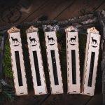 Aštrios stirnienos dešrelės medinėje pakuotėje