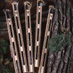Elnienos lazdelės medinėje pakuotėje